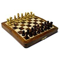 Magnetic Wood Chess Set