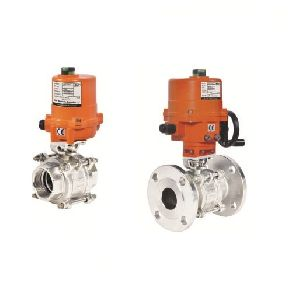 Electric Actuator Operated 2 Way Ball Valves