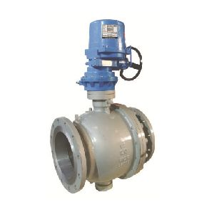 Electrical Actuator Operated Trunnion Mounted Ball Valves