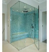 Frameless Glass Shower Partitions