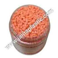 ABS Orange Recycled Granules