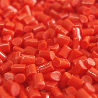 Red ABS Granules