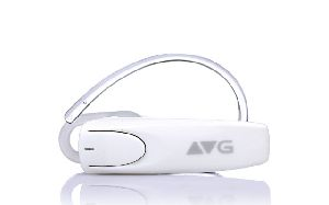 White Bluetooth Earphone