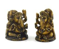 Handmade Antique Resin Baby Ganesha Statue 02