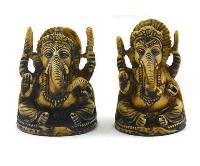 Handmade Antique Resin Baby Ganesha Statue