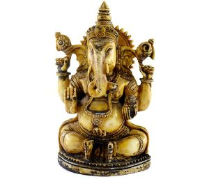 Handmade Antique Resin Lord Ganesha Statues