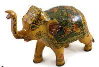 Handmade Camel Bone Elephant Statue