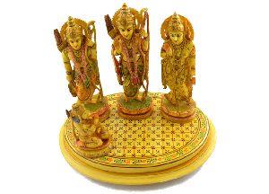 Handmade Resin Ram Darbar Statue
