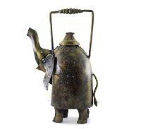 Iron Handmade Elephant Shaped Teapot