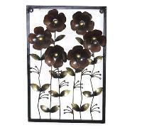 Iron Handmade Flower Wall Frame