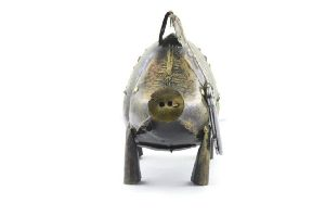 Iron Handmade Pig Shaped Coin Boxes
