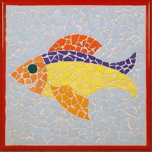 Hand Cut Mural Tiles 02