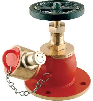 Gunmetal FM Approved Single Outlet Hydrant Valve