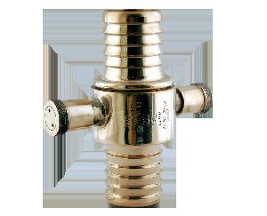 Gunmetal MMD Approved Fire Hose Delivery Couplings