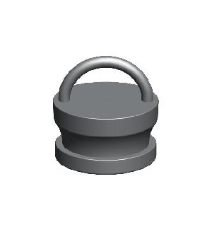 Gunmetal Male Instantenous Fire Hydrant Blank Caps