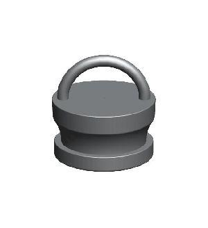 Gunmetal Male Instantenous Fire Hydrant Blank Caps