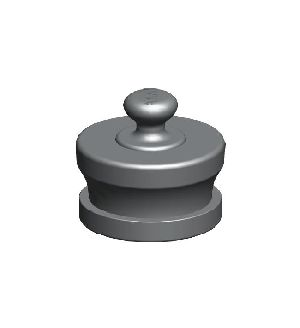 ABS Male Knob Type Fire Hydrant Blank Caps