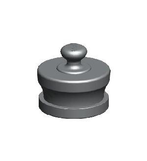 Aluminium Male Knob Type Fire Hydrant Blank Caps