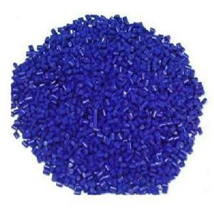 Blue Colored PP Granules