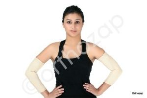 Elastic Tubular Elbow Support