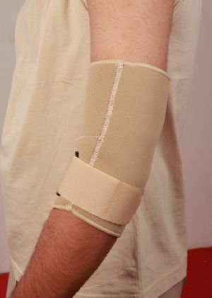 Tennis sleeve elbow with strap Neoprene Airprene