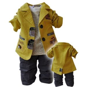 Boys Casual 3 Piece Suit