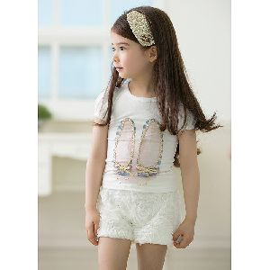 Girls Round Neck T-Shirts