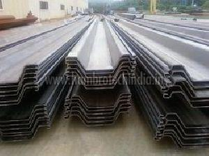 Cold Formed Steel Sheet Piles
