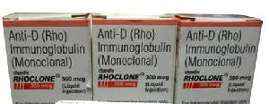 Anti D Immunoglobulin Injection