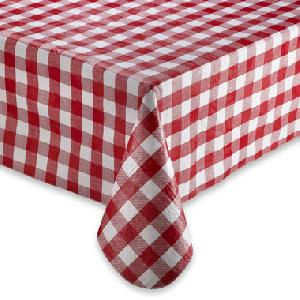 Flannel Backed Vinyl Table Cover