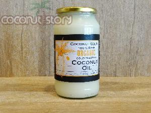 Organic Cold Pressed Coconut Oil (1 Ltr.)