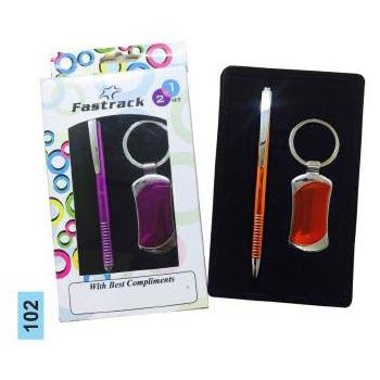 102 Pen & Keychain Gift Set