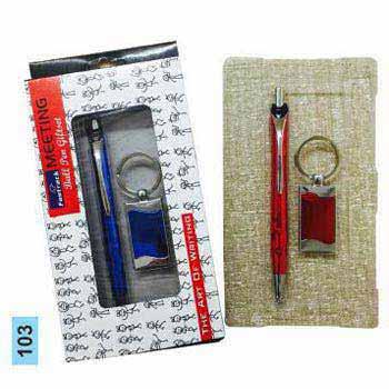 103 Pen & Keychain Gift Set