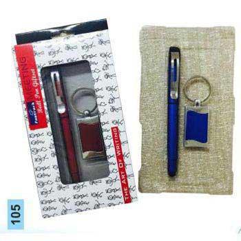 105 Pen & Keychain Gift Set