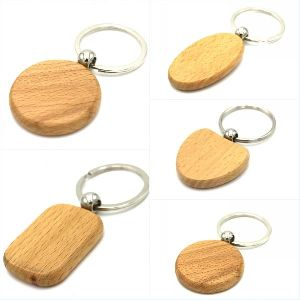 Wooden Keychain 02
