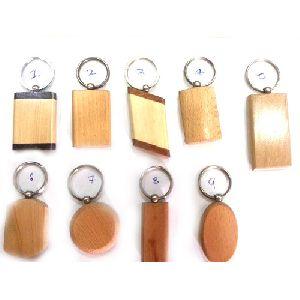 Wooden Keychain 04