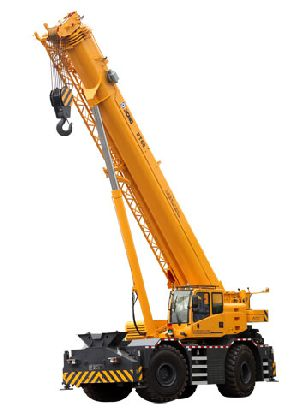 Tyre Mounted Crane Rental Services