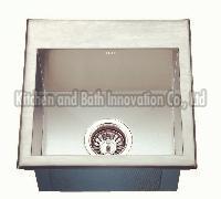KBHS3838 Stainless Steel Topmount Single Bowl Sink