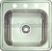 KBTS1919 Stainless Steel Topmount Single Bowl Sink