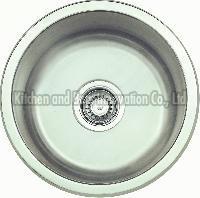 KBUS450 Stainless Steel Undermount Round Sink