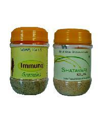 Shatavari Kalpa and Immuno Granules