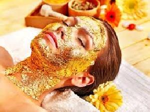 Gold Facial Massage Cream With Aloe Vera