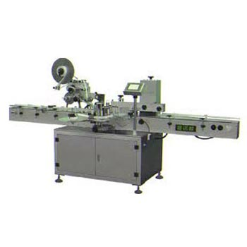 Automatic Horizontal Sticker Labeling Machine 01