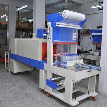 Semi Automatic Sleeve Wrapping & Shrink Tunnel Machine 01