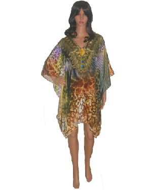 SD14 Stylish Knee Length Kaftan