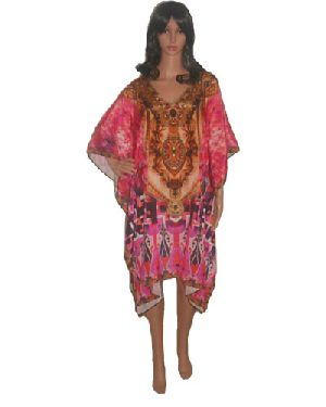 SD4 Stylish Knee Length Kaftan