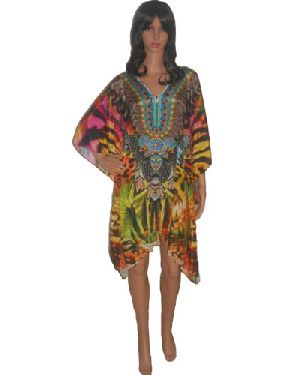 SD6 Stylish Knee Length Kaftan