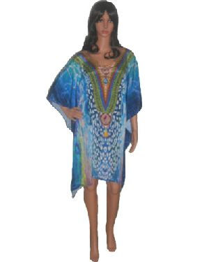 SD7 Stylish Knee Length Kaftan