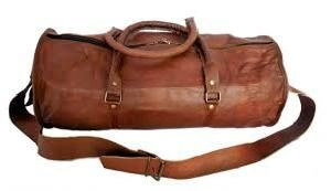 Goat Leather Duffle Bags
