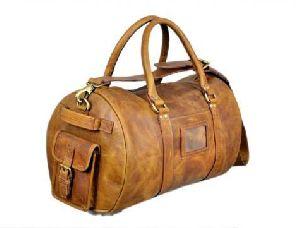 Hunter Leather Duffle Bag 04